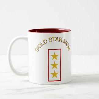 God Star Mom 3 Two-Tone Coffee Mug