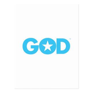 God Star Postcard