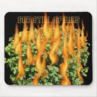 GOD STILL SPEAKS MOUSE PAD