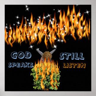GOD STILL SPEAKS PRINT