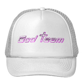 God Team Fushia Trucker Hat