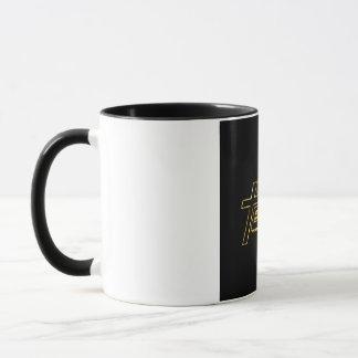 God Team or fond noir Mug