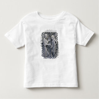 God telling Adam to work the land Toddler T-shirt