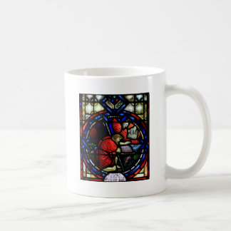 God Tells Moses to Go to Egypt Stained Glass Art Mug