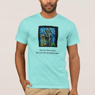 God the artist. T-Shirt