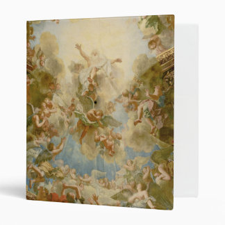 God the Father Almighty by Antoine Coypel 3 Ring Binder