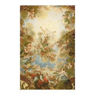 God the Father Almighty by Antoine Coypel Canvas Print