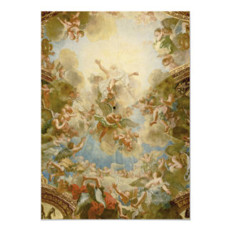 """God the Father Almighty by Antoine Coypel 5"""" X 7"""" Invitation Card"""