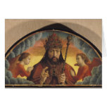 God the Father Blessing, 1506 Card