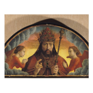 God the Father Blessing, 1506 Postcard