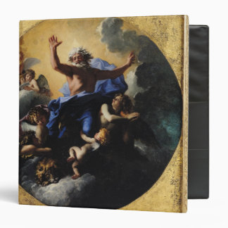 God the Father Carried by Angels Vinyl Binders
