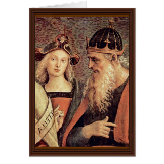 God The Father Of Prophet And Sibyl Detail Card