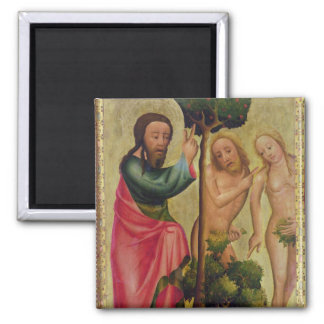 God the Father Punishes Adam and Eve Magnet