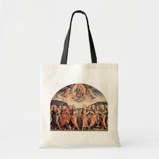 God The Father With The Prophet And Sibyl Tote Bags