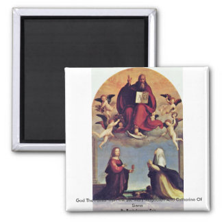 God The Father With The Sts. Magnet