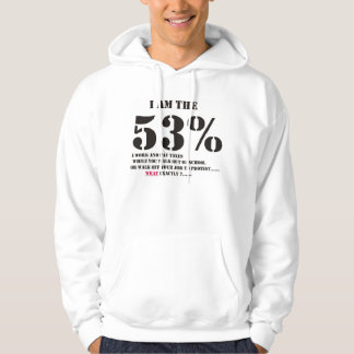 God & the free market system hooded sweatshirt