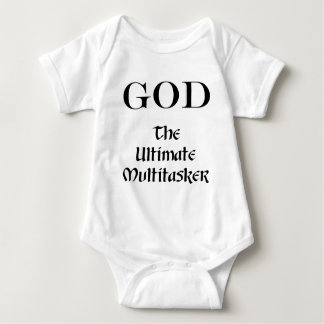 God - The Ultimate Multitasker Infant Creeper