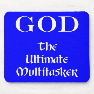 God - The Ultimate Multitasker Mouse Pad