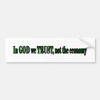God Trust Bumper Sticker