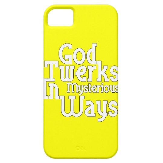 God Twerks In Mysterious Ways iPhone SE/5/5s Case