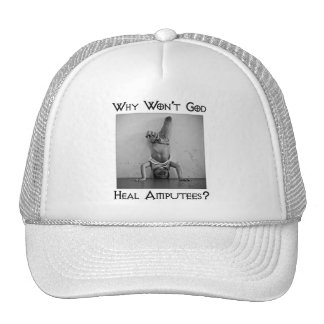 God vs Amputees 2 Mesh Hat