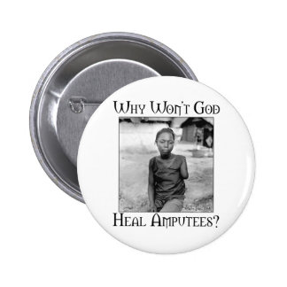 God vs Amputees Button