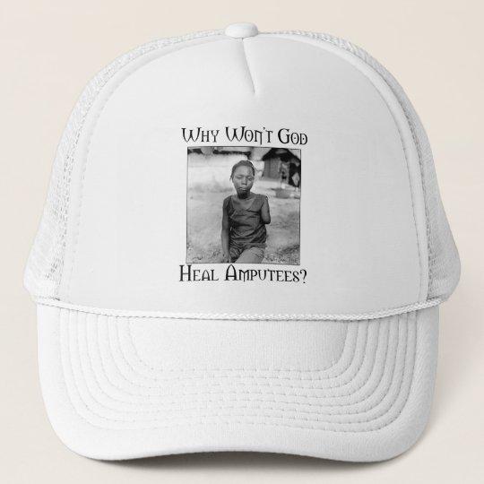 God vs Amputees Trucker Hat
