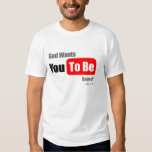 God Wants You To Be Saved, Easter T-Shirt