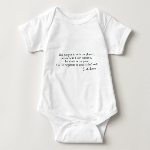 God Whispers to us in our Pleasures Shirt
