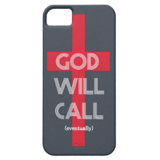 GOD WILL CALL iPhone SE/5/5s CASE