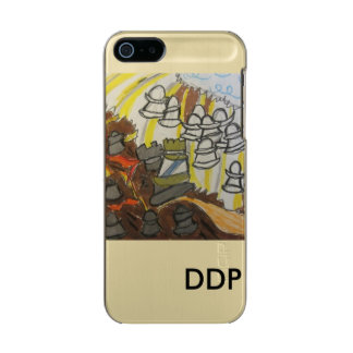 God  will  win in  end metallic phone case for iPhone SE/5/5s