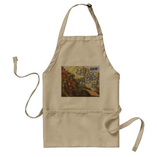 God will  win the end adult apron