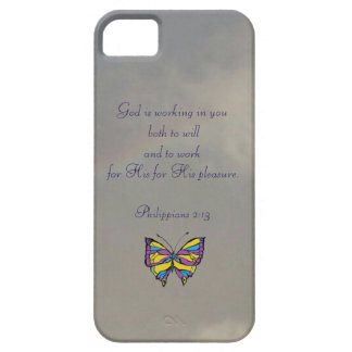 God Works in Us iPhone SE/5/5s Case