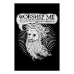 God: Worship me so I can save you from me Print