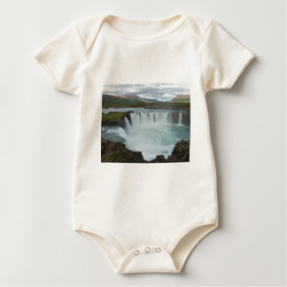 Godafoss Iceland Baby Bodysuit