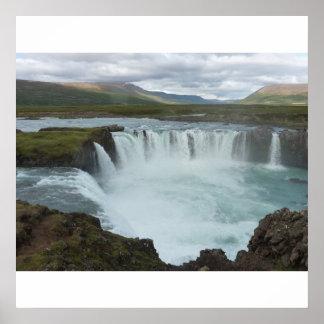 Godafoss Iceland Poster