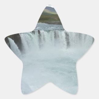 Godafoss Iceland Star Sticker