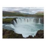 Godafoss Iceland Tarjeta Postal