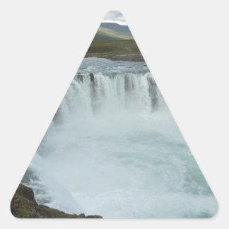 Godafoss Iceland Triangle Sticker