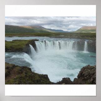 Godafoss Islandia Poster
