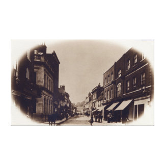 Godalming High Street, Surrey, c.1900 Canvas Print