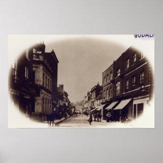 Godalming High Street, Surrey, c.1900 Poster