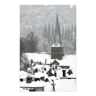 Godalming Snow Custom Stationery