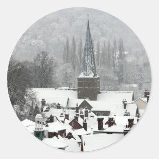 Godalming Snow Sticker