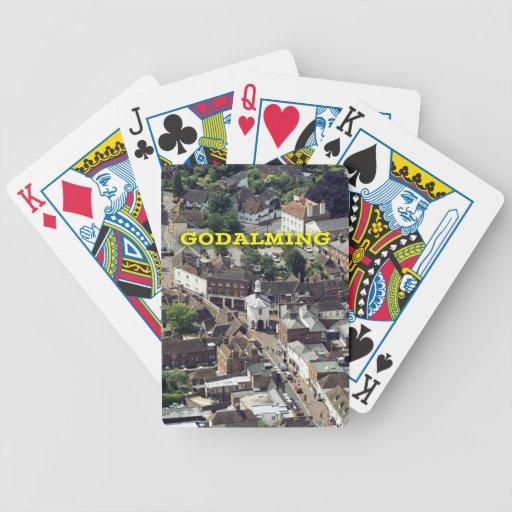 Godalming Surrey England Poker Cards