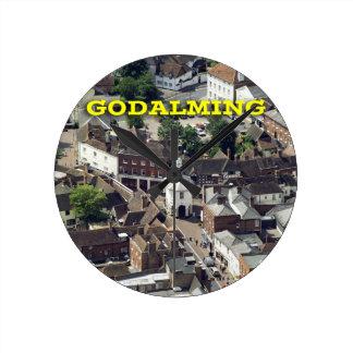 Godalming Surrey England Wallclock