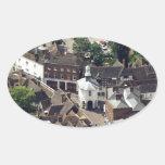 Godalming Surrey Inglaterra Calcomanía Oval Personalizadas