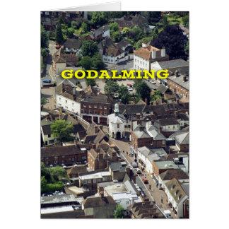 Godalming Surrey Inglaterra Tarjeta De Felicitación