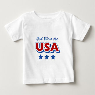 Godbless the USA Baby T-Shirt