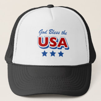 Godbless the USA Trucker Hat